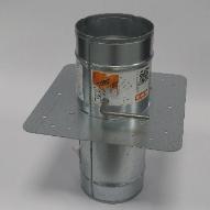 Circular Single Blade Fire Control Damper