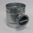 Circular Single Blade Volume Control Damper